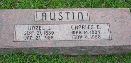 AUSTIN, CHARLES E. - Burt County, Nebraska   CHARLES E. AUSTIN - Nebraska Gravestone Photos