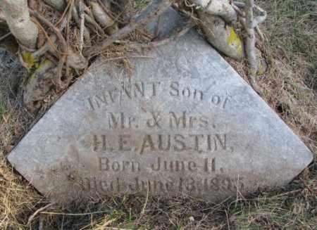 AUSTIN, INFANT SON - Burt County, Nebraska   INFANT SON AUSTIN - Nebraska Gravestone Photos