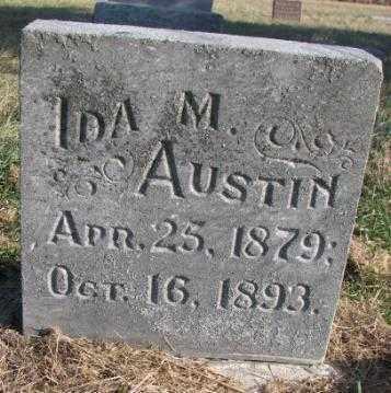 AUSTIN, IDA M. - Burt County, Nebraska   IDA M. AUSTIN - Nebraska Gravestone Photos