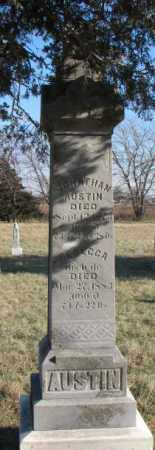 AUSTIN, REBECCA - Burt County, Nebraska | REBECCA AUSTIN - Nebraska Gravestone Photos