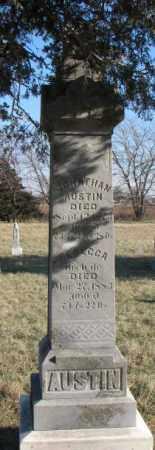 AUSTIN, JONATHAN - Burt County, Nebraska | JONATHAN AUSTIN - Nebraska Gravestone Photos