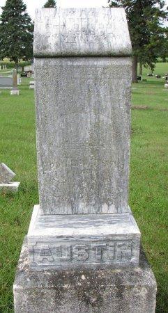 AUSTIN, ARVILLA - Burt County, Nebraska   ARVILLA AUSTIN - Nebraska Gravestone Photos