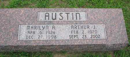 AUSTIN, MARILYN A. - Burt County, Nebraska   MARILYN A. AUSTIN - Nebraska Gravestone Photos