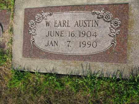 AUSTIN, W. EARL - Burt County, Nebraska | W. EARL AUSTIN - Nebraska Gravestone Photos