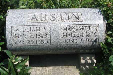 AUSTIN, WILLIAM S. - Burt County, Nebraska | WILLIAM S. AUSTIN - Nebraska Gravestone Photos