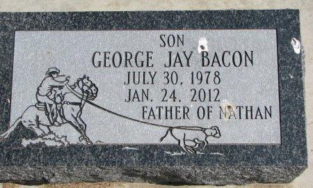 BACON, GEORGE JAY - Burt County, Nebraska | GEORGE JAY BACON - Nebraska Gravestone Photos