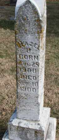 BACON, HAZEL D. - Burt County, Nebraska | HAZEL D. BACON - Nebraska Gravestone Photos