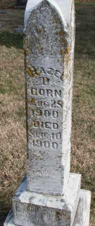 BACON, HAZEL D. - Burt County, Nebraska   HAZEL D. BACON - Nebraska Gravestone Photos