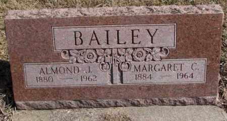 BAILEY, ALMOND J. - Burt County, Nebraska   ALMOND J. BAILEY - Nebraska Gravestone Photos