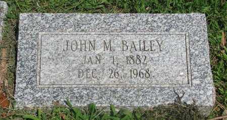 BAILEY, JOHN M. - Burt County, Nebraska   JOHN M. BAILEY - Nebraska Gravestone Photos