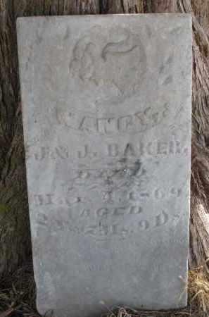 BAKER, NANCY - Burt County, Nebraska   NANCY BAKER - Nebraska Gravestone Photos