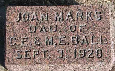 BALL, JOAN - Burt County, Nebraska | JOAN BALL - Nebraska Gravestone Photos