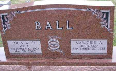 BALL, MARJORIE A. - Burt County, Nebraska | MARJORIE A. BALL - Nebraska Gravestone Photos