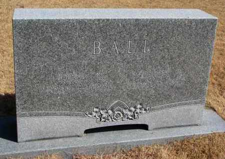 BALL, ROSE N. - Burt County, Nebraska | ROSE N. BALL - Nebraska Gravestone Photos