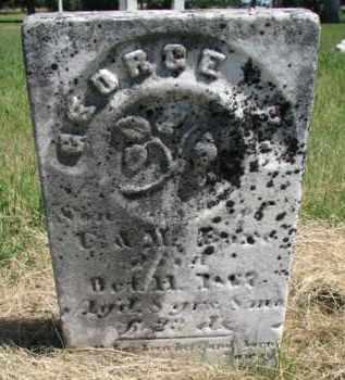 BARE, GEORGE H. - Burt County, Nebraska | GEORGE H. BARE - Nebraska Gravestone Photos