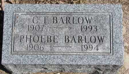 BARLOW, PHOEBE - Burt County, Nebraska | PHOEBE BARLOW - Nebraska Gravestone Photos
