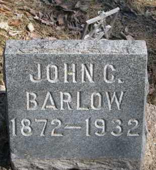 BARLOW, JOHN C. - Burt County, Nebraska | JOHN C. BARLOW - Nebraska Gravestone Photos