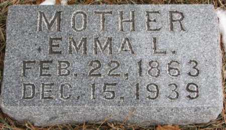 BATCHELDER, EMMA L. - Burt County, Nebraska | EMMA L. BATCHELDER - Nebraska Gravestone Photos