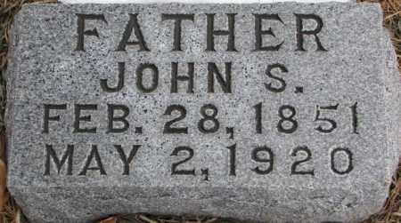 BATCHELDER, JOHN S. - Burt County, Nebraska | JOHN S. BATCHELDER - Nebraska Gravestone Photos