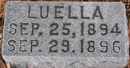 BATCHELDER, LUELLA - Burt County, Nebraska | LUELLA BATCHELDER - Nebraska Gravestone Photos
