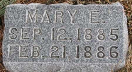 BATCHELDER, MARY E. - Burt County, Nebraska | MARY E. BATCHELDER - Nebraska Gravestone Photos
