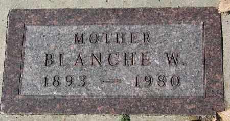 BEARD, BLANCHE W. - Burt County, Nebraska | BLANCHE W. BEARD - Nebraska Gravestone Photos