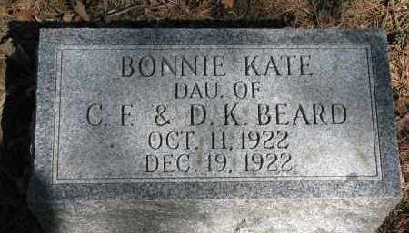 BEARD, BONNIE KATE - Burt County, Nebraska | BONNIE KATE BEARD - Nebraska Gravestone Photos