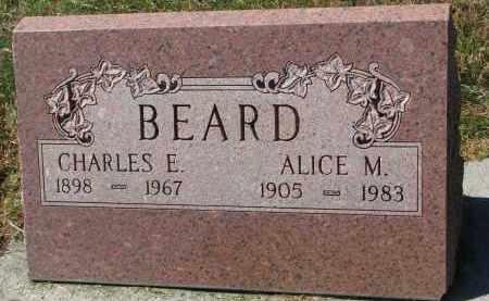 BEARD, CHARLES E. - Burt County, Nebraska   CHARLES E. BEARD - Nebraska Gravestone Photos