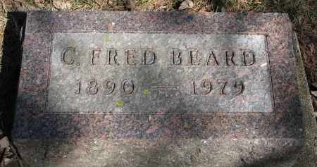 BEARD, C. FRED - Burt County, Nebraska   C. FRED BEARD - Nebraska Gravestone Photos