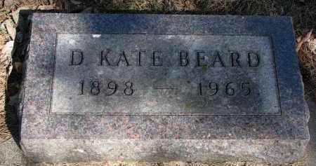BEARD, D. KATE - Burt County, Nebraska   D. KATE BEARD - Nebraska Gravestone Photos