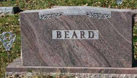 BEARD, FAMILY STONE - Burt County, Nebraska | FAMILY STONE BEARD - Nebraska Gravestone Photos