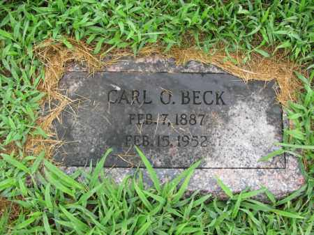 BECK, CARL O. - Burt County, Nebraska | CARL O. BECK - Nebraska Gravestone Photos