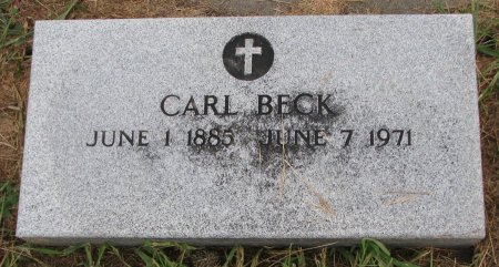 BECK, CARL - Burt County, Nebraska | CARL BECK - Nebraska Gravestone Photos