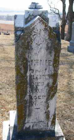 BEEBEE, MINNIE - Burt County, Nebraska | MINNIE BEEBEE - Nebraska Gravestone Photos
