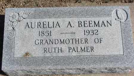 BEEMAN, AURELIA A. - Burt County, Nebraska | AURELIA A. BEEMAN - Nebraska Gravestone Photos