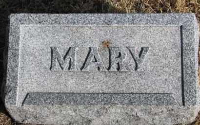 BENJAMIN, MARY #2 - Burt County, Nebraska | MARY #2 BENJAMIN - Nebraska Gravestone Photos