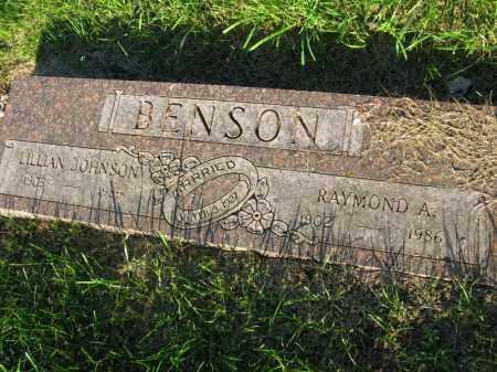 JOHNSON BENSON, LILLIAN - Burt County, Nebraska | LILLIAN JOHNSON BENSON - Nebraska Gravestone Photos