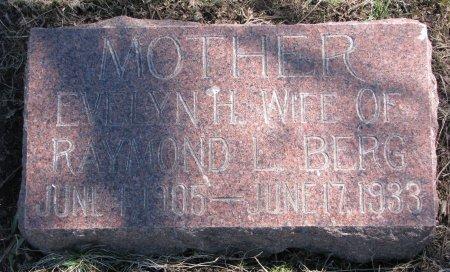 BERG, EVELYN H. - Burt County, Nebraska   EVELYN H. BERG - Nebraska Gravestone Photos