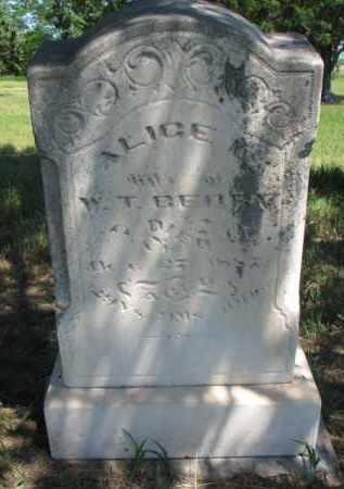 BERRY, ALICE L. - Burt County, Nebraska | ALICE L. BERRY - Nebraska Gravestone Photos