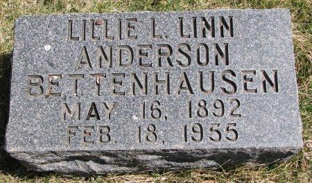 ANDERSON BETTENHAUSEN, LILLIE L. LINN - Burt County, Nebraska | LILLIE L. LINN ANDERSON BETTENHAUSEN - Nebraska Gravestone Photos