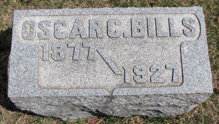 BILLS, OSCAR C. - Burt County, Nebraska   OSCAR C. BILLS - Nebraska Gravestone Photos