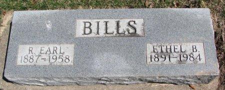 BILLS, R. EARL - Burt County, Nebraska | R. EARL BILLS - Nebraska Gravestone Photos