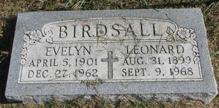 BIRDSALL, EVELYN - Burt County, Nebraska | EVELYN BIRDSALL - Nebraska Gravestone Photos