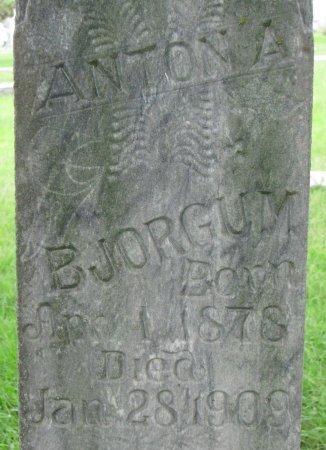 BJORGUM, ANTON A. (CLOSE UP) - Burt County, Nebraska | ANTON A. (CLOSE UP) BJORGUM - Nebraska Gravestone Photos