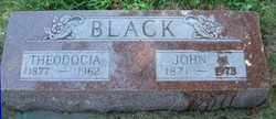BLACK, JOHN W. - Burt County, Nebraska | JOHN W. BLACK - Nebraska Gravestone Photos