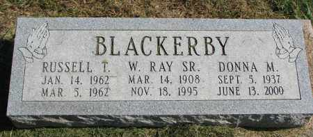 BLACKERBY, DONNA M. - Burt County, Nebraska | DONNA M. BLACKERBY - Nebraska Gravestone Photos