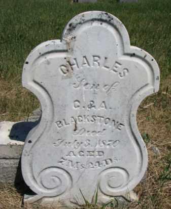 BLACKSTONE, CHARLES - Burt County, Nebraska   CHARLES BLACKSTONE - Nebraska Gravestone Photos
