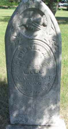 BLACKSTONE, DIANTHA A. - Burt County, Nebraska   DIANTHA A. BLACKSTONE - Nebraska Gravestone Photos