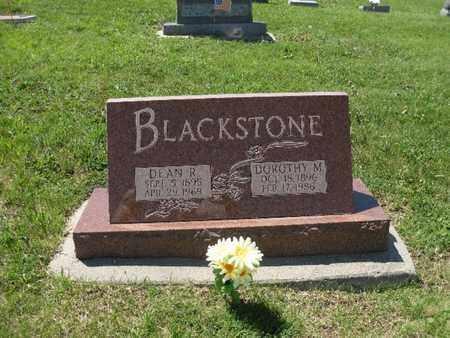 BLACKSTONE, DEAN R. - Burt County, Nebraska | DEAN R. BLACKSTONE - Nebraska Gravestone Photos