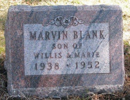 BLANK, MARVIN  - Burt County, Nebraska   MARVIN  BLANK - Nebraska Gravestone Photos
